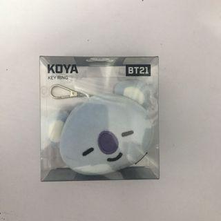 WTS OFFICIAL BT21 KOYA HEAD KEYRING