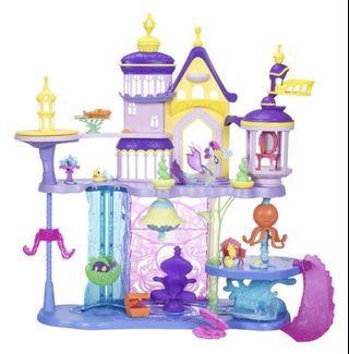 My Little Pony- The Movie Canterlot & Seaquestria Castle