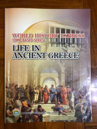 World History Express Topic-Based Series - Life in Ancient Greece