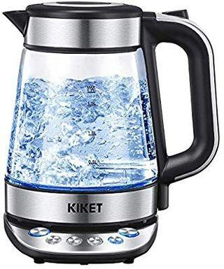 Free Delivery(JG38) KIKET Electric Kettle Glass (BPA free) #AmplifyJuly35