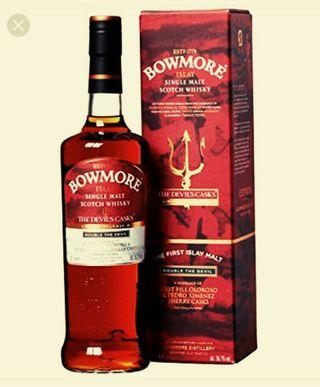Bowmore Devils cask no 3 with free complimentary 50ml bottle