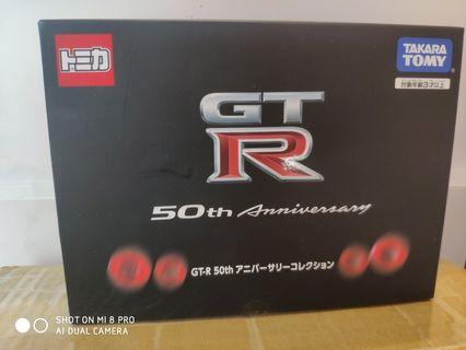 TAKARA TOMY Tomica GT-R 50th Anniversary Collection box set 旺角信和店 批發另議