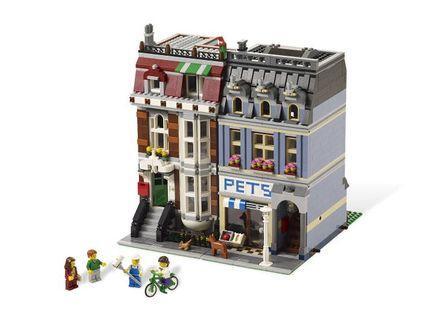 (已砌)Lego街景 Pet shop 10218