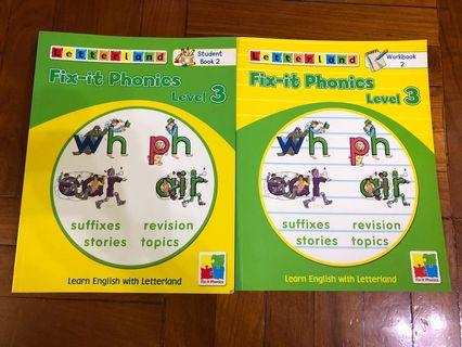 Letterland Fix-it Phonics Level 3