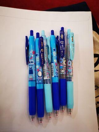 SARASA藍色原子筆, 有其他色
