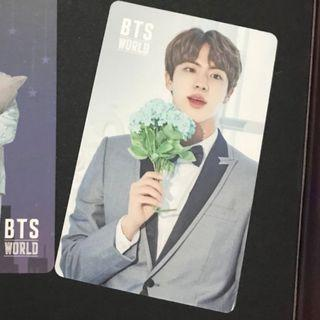 WTB-BTS OST Jin Photocard