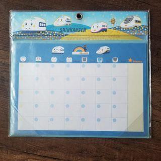 卡通火車頭 月曆