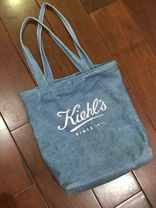 🚚 Kiehl's 牛仔布托特包