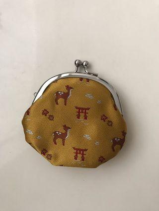 鳥居鹿仔手造散銀包 Handmade deer coin purse 👛(廣島限定)