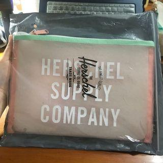 Herschel Supply Company 粉色透明包包