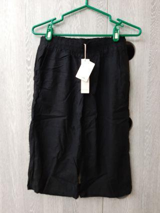 🚚 全新🌷黑色寬褲