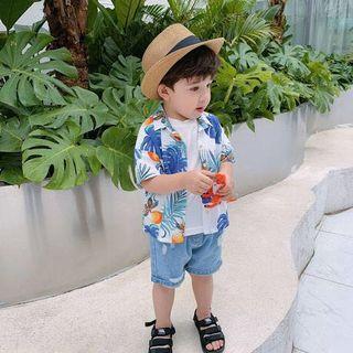 🚚 Hawaii Style Boy Silky Top