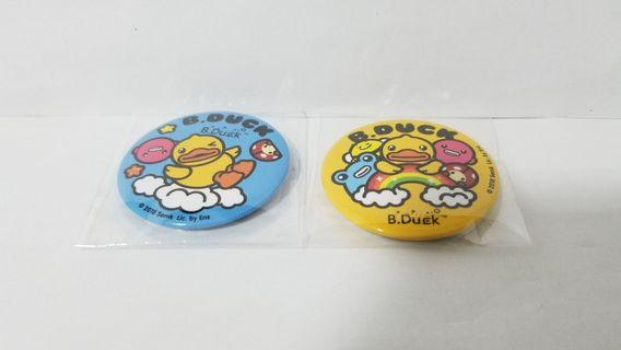 B.Duck 鴨仔 襟章