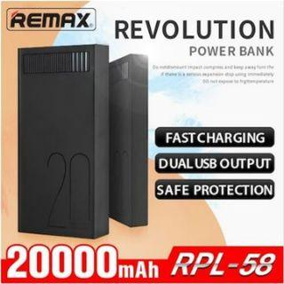 Remax Powerbank / 20000mAh Remax Revolution Powerbank