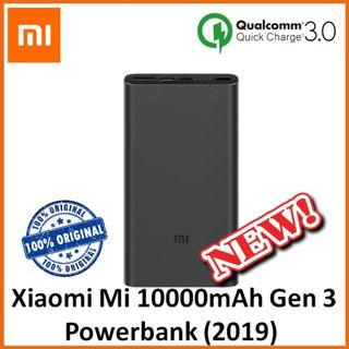 Xiaomi Powerbank / 10000MAH Xiaomi Powerbank Gen 3
