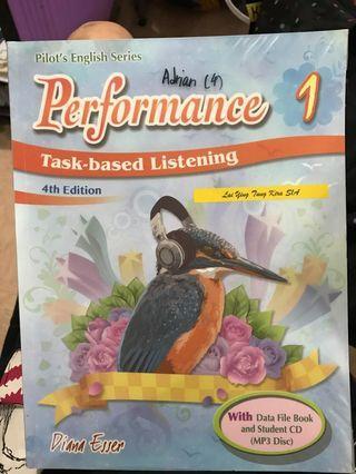 Performance Task-based Listening 1