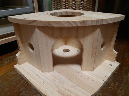 Wood hideout