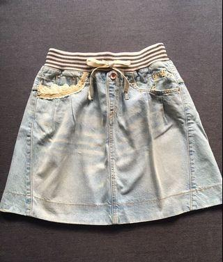 ❤️一口價$190 Franche Lippee Denim Skirt 牛仔裙
