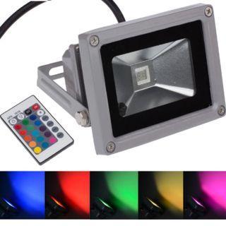 Item#204 - RGB Color Changing LED Flood Light (2 in a set)