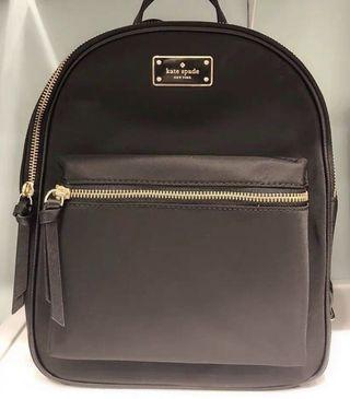全新 Kate Spade 黑色 尼龍背包 背囊 backpack 袋
