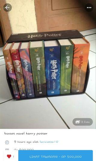 Harry Potter Boxset Modus Penipuan Tolong Dibaca Deskripsi