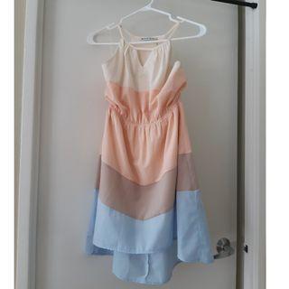 Multi coloured hilo summer dress