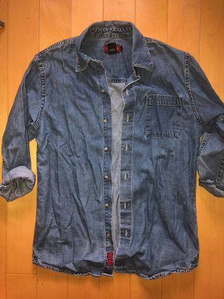 denim shirt (thrifted)