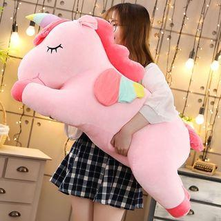 100Cm Memory Foam Mochi Unicorn Flying Horse Plush