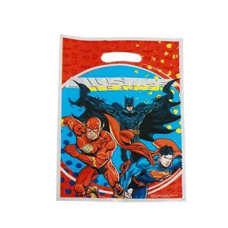 Superheroes Justice League party supplies - justice league loot bags / goodie bags / party bags