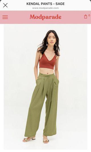 Modparade Kendal Pants in Sage