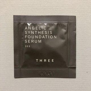 THREE Angelic Synthesis Foundation Serum 天使煥采精萃粉底 試用sample