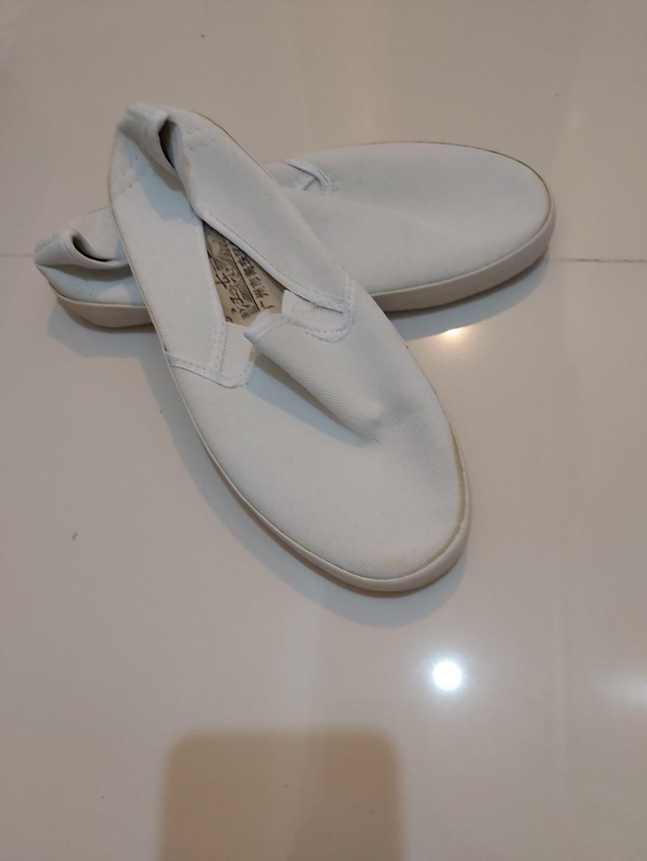 白色帆布鞋 (白飯魚)