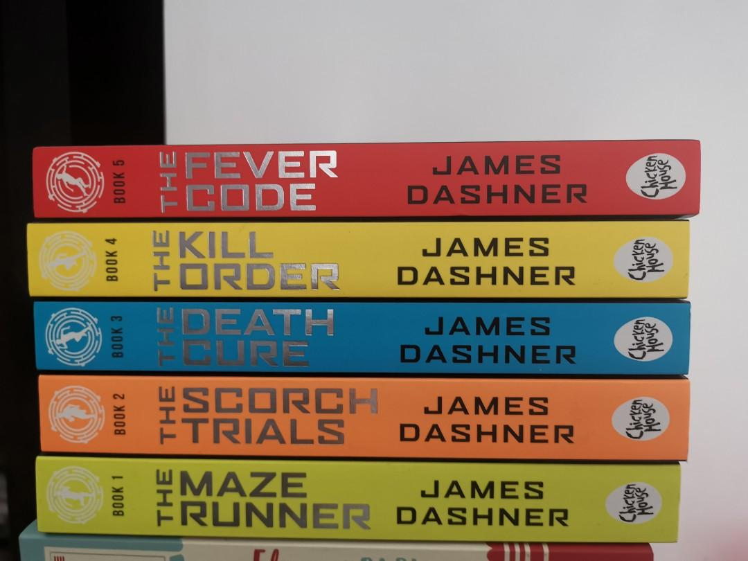 a year+ old books, but are never read, maze runner, harry potter, agatha christie, rainbow rowell, michael grant