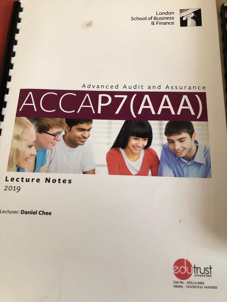 ACCA AAA P7