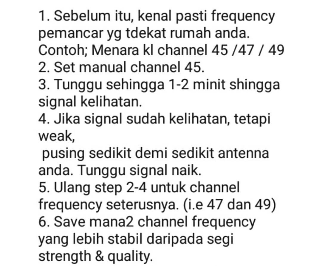 AERIAL DIGITAL ANTENNA ANTENA INDOOR SIARAN MYTV MYFREEVIEW, Mobile