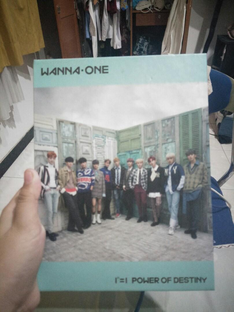 Album wannaone power of destiny romance ver+ poster