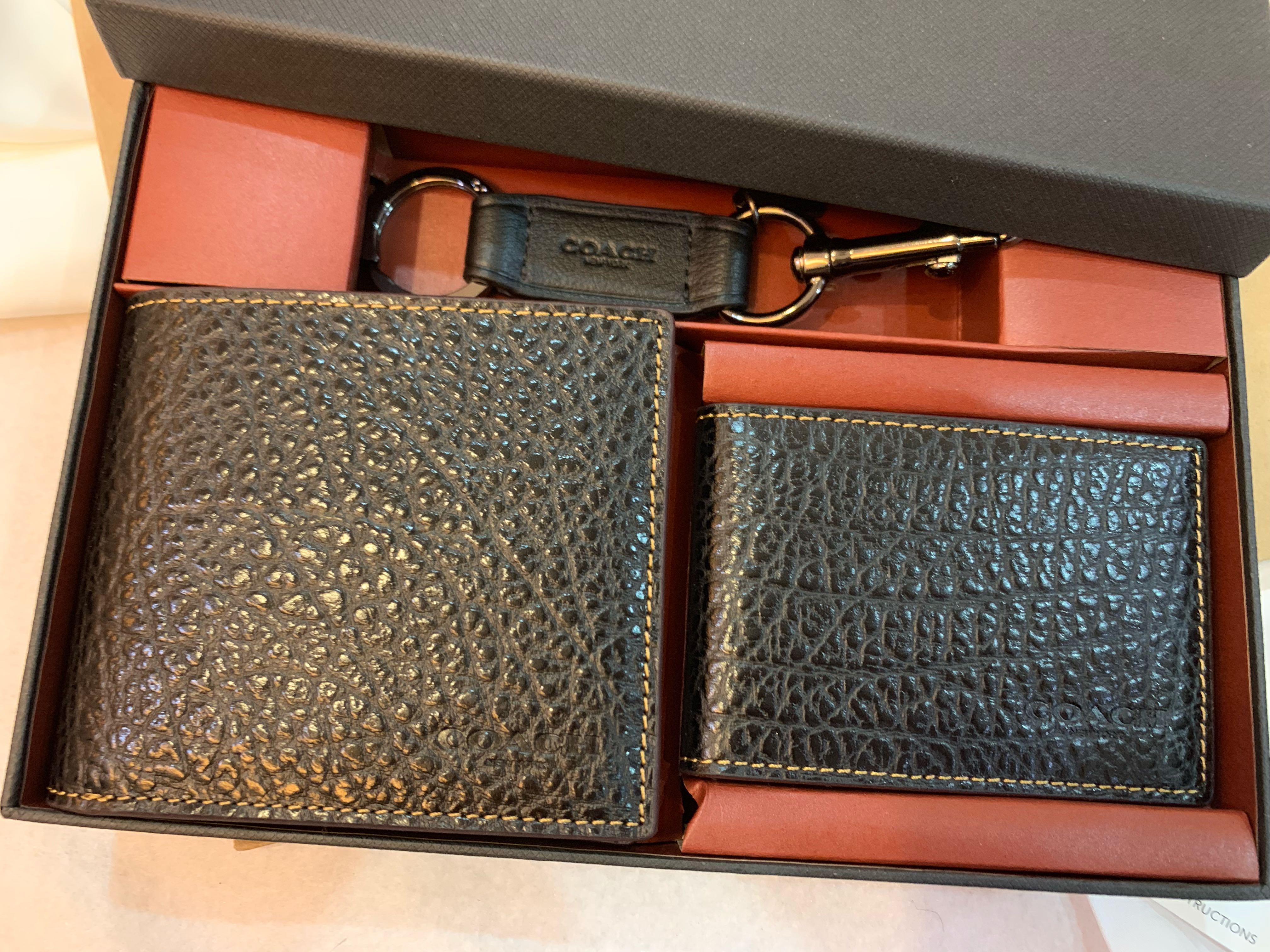 Authentic coach men wallet  purse 87188 card holder