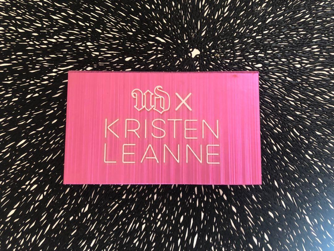Authentic Urban decay x Kristen Leanne highlighter palette