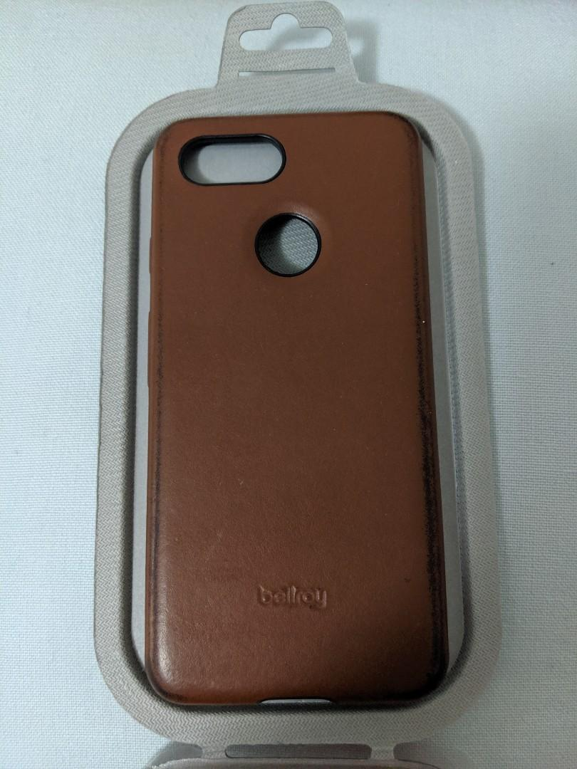 Bellroy leather pixel case Brown for Google pixel 3