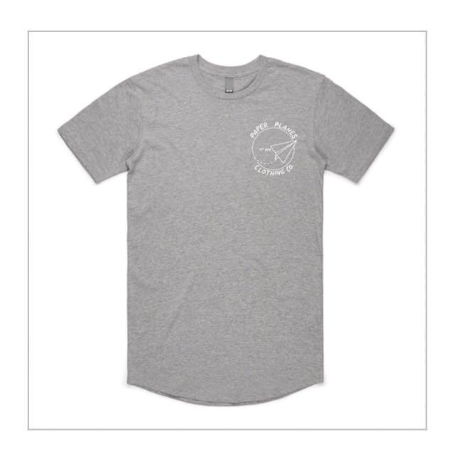 Brand new Paper Planes Clothing Co. Curved Hem Tee