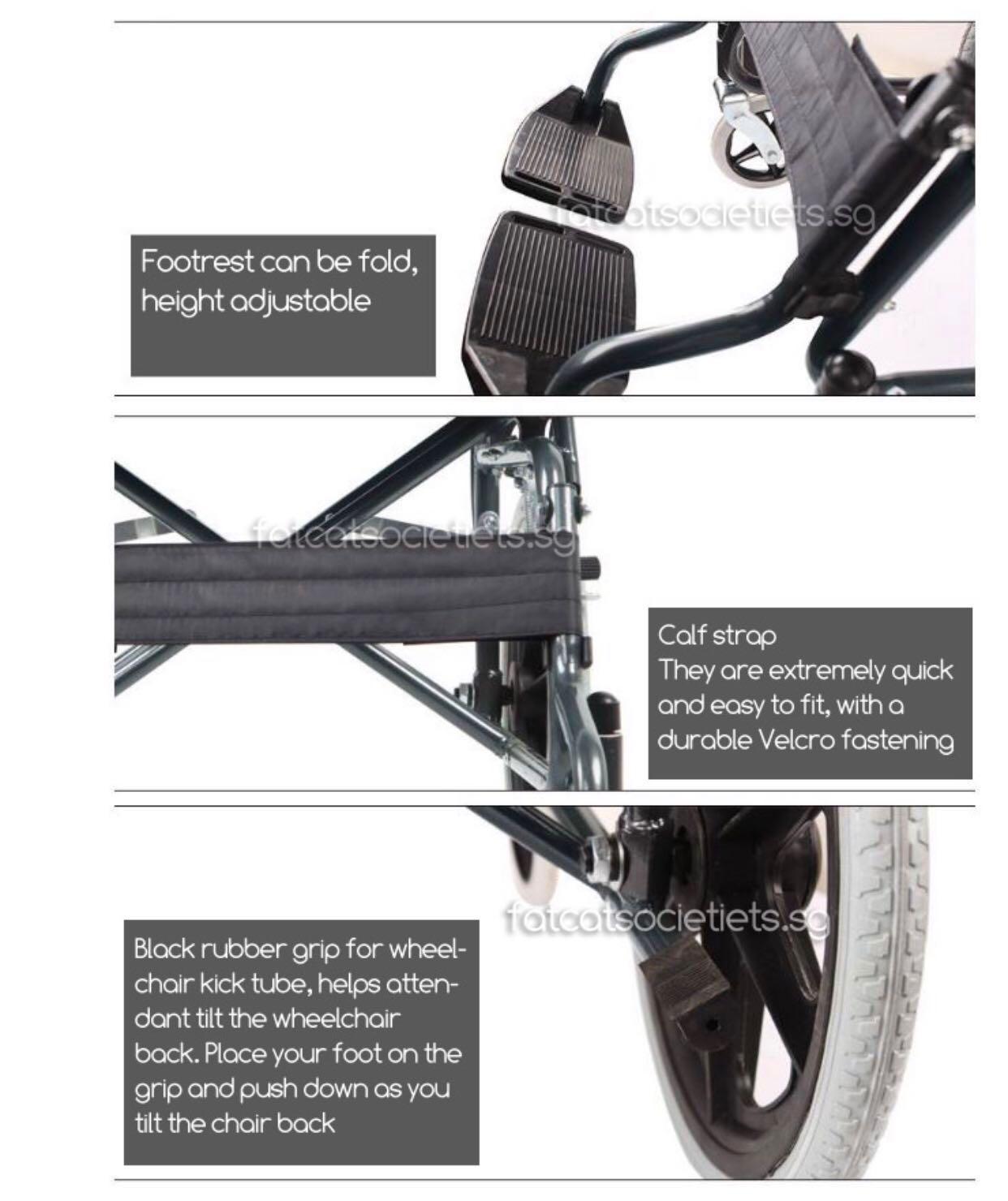 Budget Wheelchair / Pushchair 11.5kg