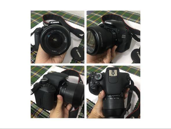 Canon EOS Rebel T3i EOS 600D
