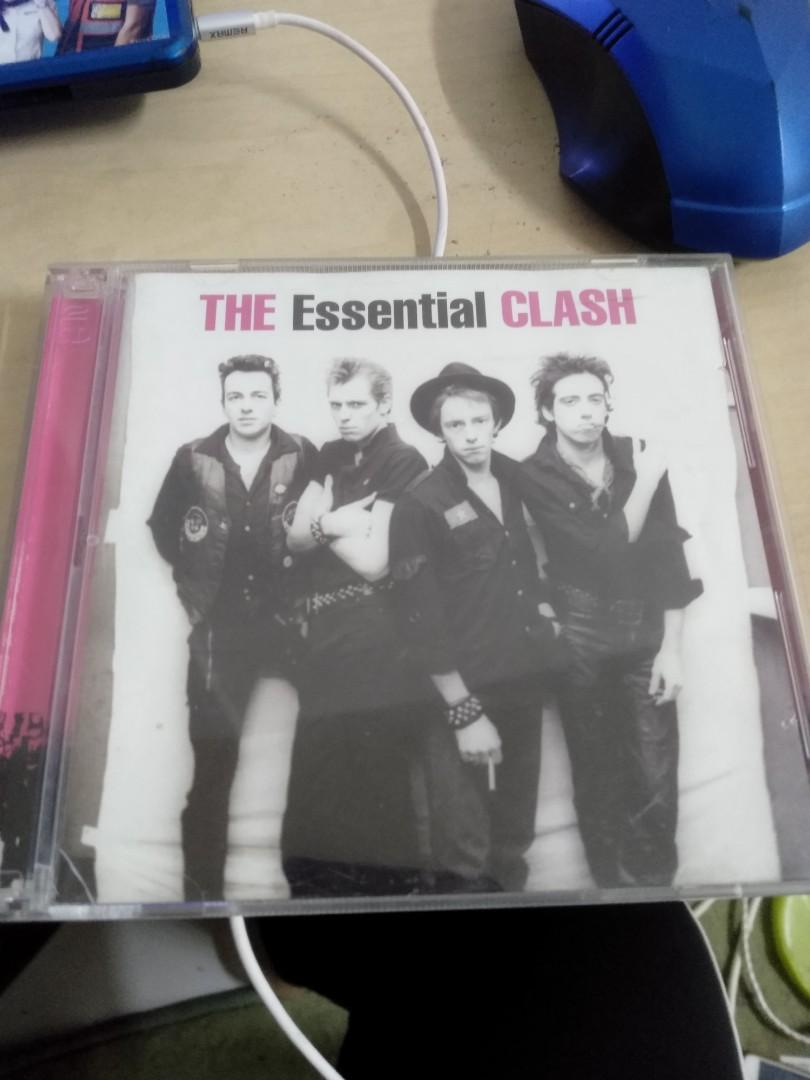 cd the essential clash