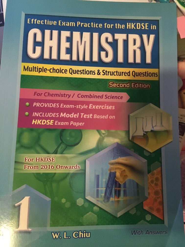 Chemistry Exercise Mc Structured Questions On Carousell