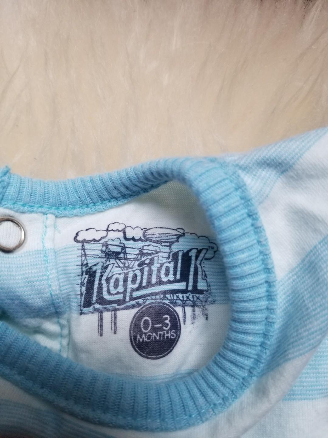 Designer baby clothing lot. Size 0-3mths. New.  Kapital K British monkey romper $11 Baby Gap favourite waffle onesie $7 Santas favourite dude. Free! With purchases Take all for $14 pick up main and Gerrard or pick up 20 bay or