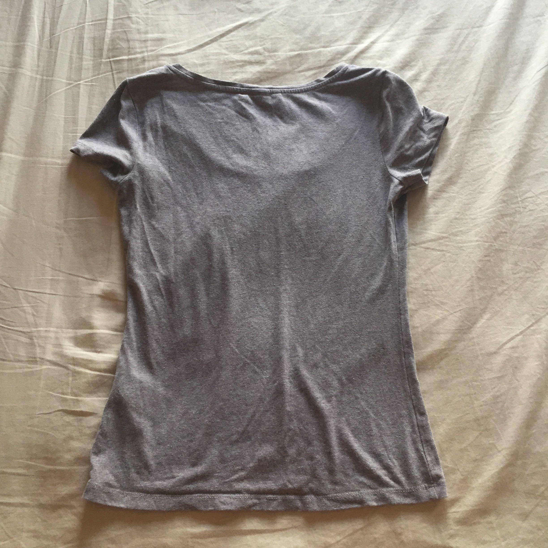 H&M 柔棉款t-shirt