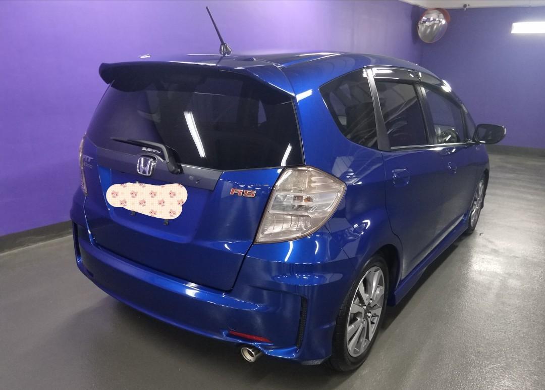 HONDA FIT RS 2011