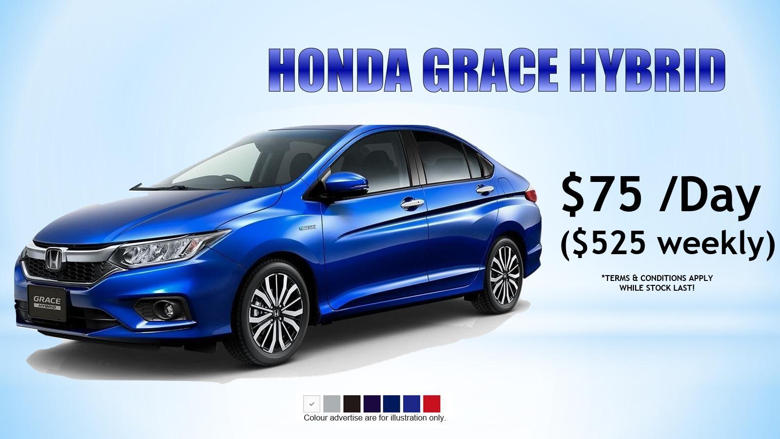 Honda Grace Hybrid 1.5