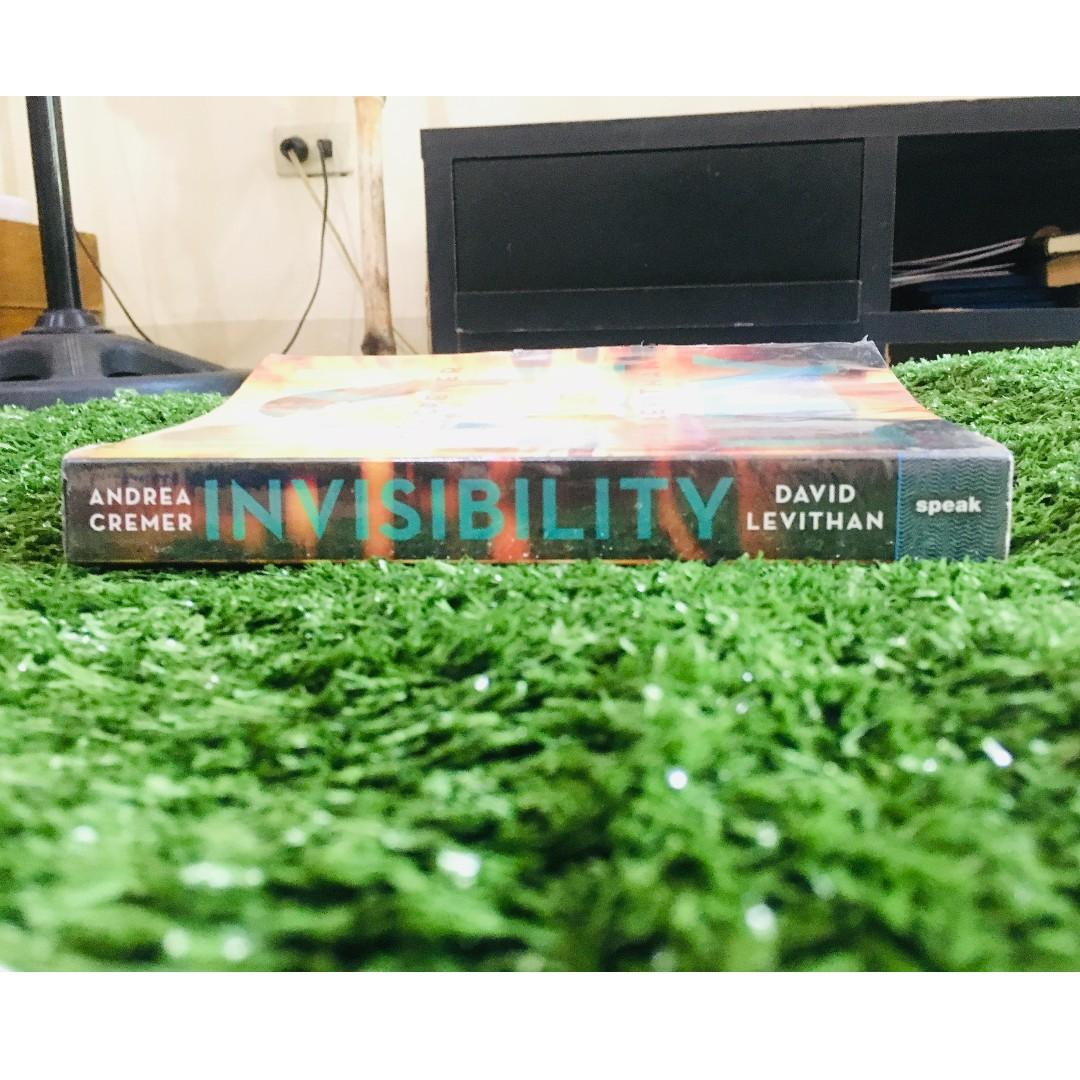 INVISIBILITY BY DAVID LEVITHAN AND ANDREA CREMER // YOUNG ADULT FICTION & FANTASY