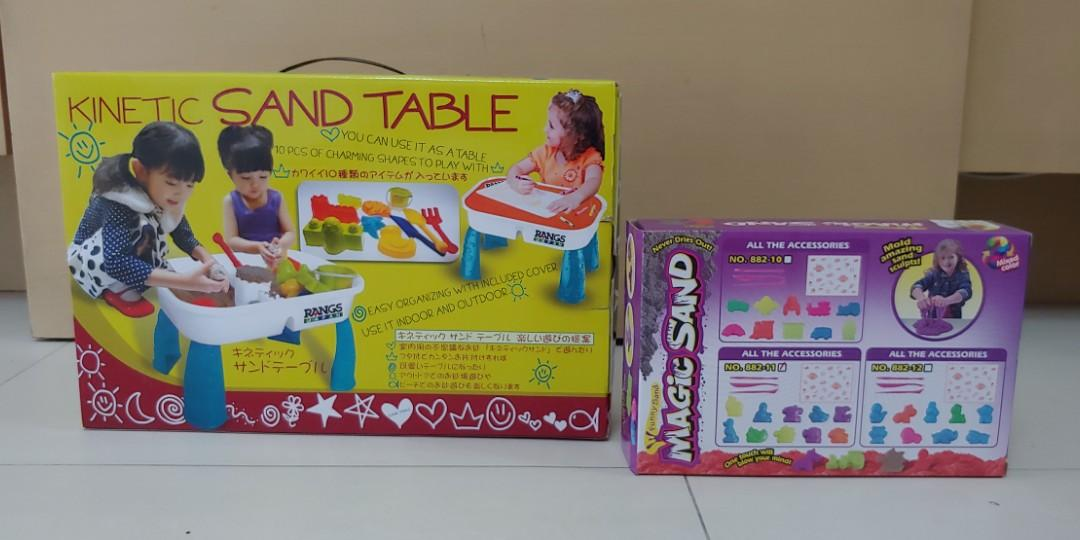 Kenetic/Magic Sand Table + 1 package of sand